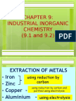 chapter 9 industrial inorganic chemistry 9 1 and 9 2