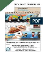CBC - 2D Digital Animation NC III