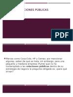 plan de mercadotecnia relaciones publicas