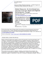 Global Discourse Volume 3 Issue 3-4 2013 [Doi 10.1080%2F23269995.2014.880254] Ettlinger, Nancy -- The Production of Precariousness and Implications for Collective Action- A Reply to Emiliana Armano An