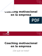 Coaching Motivacional en La Empresa