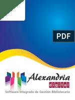 Alexandria Digital - Software Integrado de Gestión Bibliotecaria