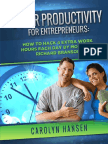 Super Productivity for Entrepreneurs