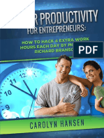 Super Productivity for Entrepreneurs
