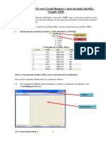 Manual Informe Con XML y Crystal Report 2014