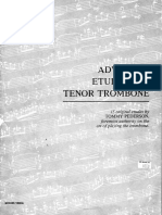Tommy Pederson - Advanced Etudes for Trombone.pdf