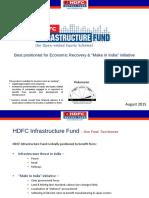 HDFC Infrastructure Fund - August 2015