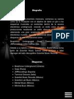 Presskit Endroi 2015