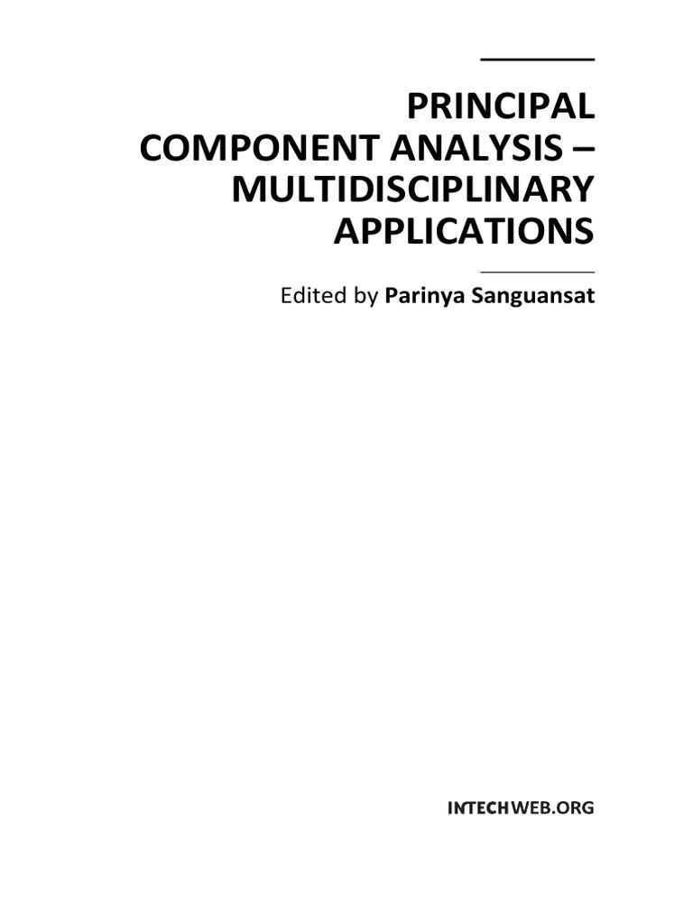 Parinya Sanguansat-Principal Component Analysis ...