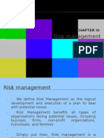 Chapter 3 Risk Management