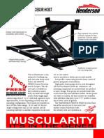 HP-075 Bench Press