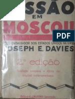 Missão Em Moscou - Joseph H. Davies