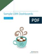 Salesforce Dashboard Samples