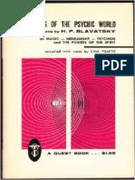 Dynamics of the Psychic World - H. P. Blavatsky