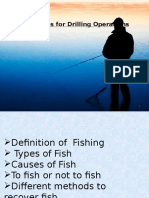 Fishing in drilling operations