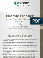 Vortrag Islamic Finance by Dr. Kohorshid