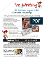 SUMMER SPECIAL Creative Writing - Special writing skill development programs for kids in Mississauga Call 905 819 8142 - http://learnaheartland.blogspot.com/p/art_16.html