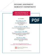 Hemodynamic Assessment in ED