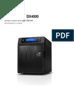 WD Sentinel DX 4000