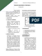 Generador Sincrónico Trifásico Informe2