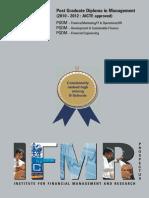 PGDM FT Prospectus