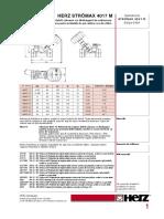 Herz-4017-Robinet Reglare Debit Incalzire-racire Stromax M