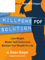 The Willpower Solution