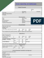 Form. Rh005 v.00 Ficha Cadastral de Empregado