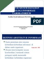 Konsep Dasar Analisis Kebutuhan Dan Penentuan Arsitektur Sistem Data & IT Lab