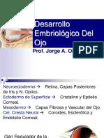 Embriología de ojo