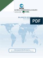 Bilancio Sociale ISCOS 2015 - Allegato Progetti
