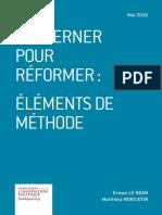 Erwan Le Noan et Matthieu Montjotin - Gouverner pour réformer