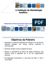 Workshop_Anvisa_Validação_Analítica