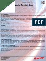 A e Regulator Guide