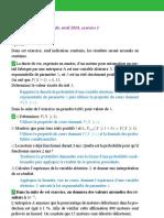 Bac_Sujets de Mathematiques, Term S