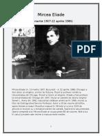 Mircea Eliade Proiect