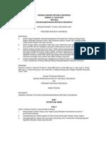 UU No. 12 Tahun 2006 Tentang Kewarganegaraan Republik Indonesia