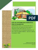Guia de Sostenibilidad Energetica Para Ecoalbergues