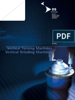 Vertical turning machines