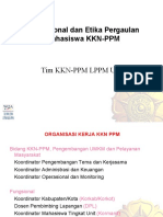Operasional Dan Etika Pergaulan