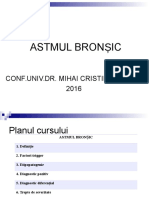 Curs 13 Astmul Bronsic