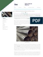 Mild Steels Uses In The UK Water Industry _ Metal Supplies™