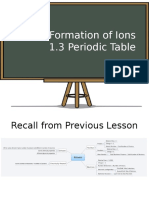 Ch1.2 Periodic Table Lesson Material