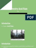 chemistry acid rain