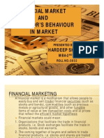 Financial Market and Investor's Behavior in Financial Market