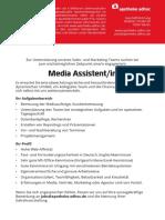 Media Assistent/in für das APOTHEKE ADHOC Sales- und Marketing-Team