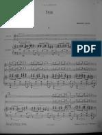 Ravel - Piano Trio Score Color