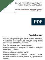 Summary Plan of Hospital & Sr Imc Bintaro (English)