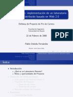 Weblab Deusto ImplementaciónLabRemtDistrBasWeb2.0
