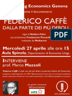 Locandina Federico Caffè